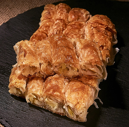 Bosnian Borek With Grounded Meat